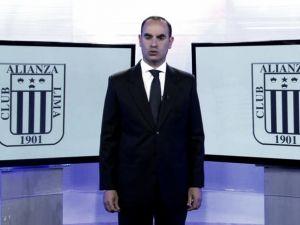 """Bustos: """"Buscaremos un DT que se asimile a la filosofía de Alianza Lima"""""""