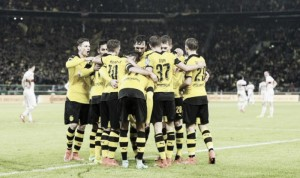 VfB Stuttgart 1-3 Borussia Dortmund: BVB's deadly front three see them into DFB-Pokal semi-final