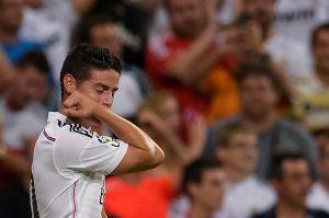 James Rodríguez marcó su primer gol con el Real Madrid
