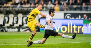 Bundesliga - Test europeo tra Eintracht Frankfurt e Borussia Dortmund nella cornice del Tempel