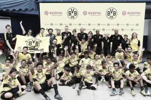Evonik e Borussia Dortmund celebram 10 anos de parceria com evento em São Paulo