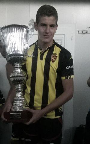 El zaragocista Darío Ramos, convocado con la Selección Española Sub-16