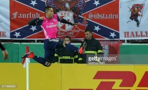 Hallescher FC 0-4 Hamburger SV: Wood stars as HSV grab Gisdol's first win
