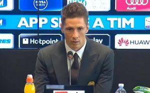 """Milan, Torres assicura i tifosi: """"Riusciremo a tornare in Europa"""""""