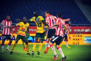 Con una lluvia de goles en Barranquilla, Junior volvió a la victoria