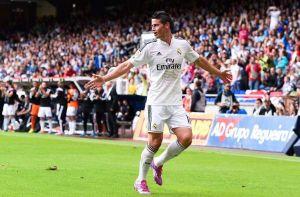 James Rodríguez se consolida con golazo en el Real Madrid