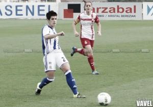 """Iraia Iparagirre: """"El equipo está día a día trabajando duro en los entrenamientos, y al final da sus frutos en los partidos"""""""