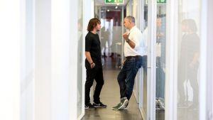 Carles Puyol estrena cargo en la Ciutat Esportiva