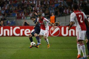 L'Ajax frena il PSG, finisce 1-1 ad Amsterdam