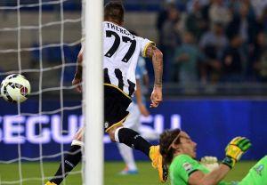 L'Udinese batte la Lazio e si ritrova di colpo terza