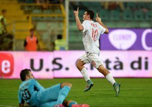 Il Palermo ferma l'Inter, al Barbera finisce 1-1