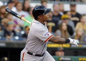 Marlon Byrd Impresses In San Francisco Giants Debut To Help Get The Win