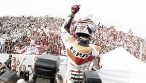 Marc Márquez se corona como el campeón más joven de la categoría reina