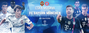Live CSKA Mosca vs Bayern Monaco, diretta Champions League