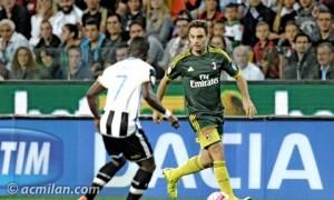 Resultado AC Milan - Udinese 2016 en directo online en el Calcio (1-1)