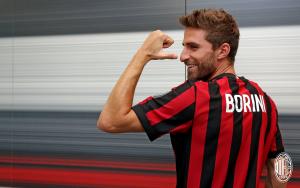 Milan, meno male che c'è Borini