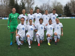2019 Women's World Cup Qualification (UEFA) – Group 6: Italy defeat Moldova to edge closer towards qualification