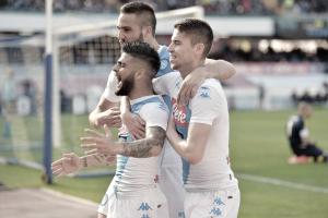 Serie A: Il Napoli cala il tris con Insigne (2) e Mertens. Battuto il Crotone 3-0