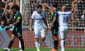 Diretta Inter - Sassuolo, live della partita di Serie A