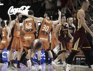 Van Rossom da el primer partido de la serie a Valencia Basket