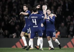 Espectáculo en Stamford Bridge