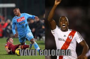 Dos colombianos en la agenda del Barça