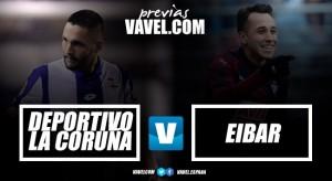 Previa Dépor - Eibar: las posibilidades se agotan