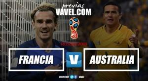 Previa Francia vs Australia: Imponer autoridad