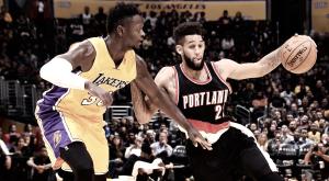 Com grande atuação no segundo tempo, Blazers vencem Lakers fora de casa