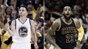 Stephen Curry y LeBron James, Jugadores de la Semana