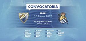 Gabri, del filial, entra en la convocatoria del Málaga CF