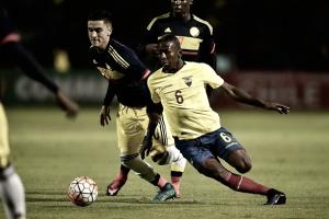 Colombia pierde sobre el final ante Ecuador en el Sub-20