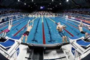 Primera jornada de la FINA Swimming World Cup 2017 en Pekín