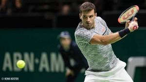 ATP Rotterdam, il programma: spicca Dimitrov - Goffin