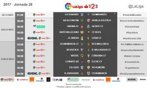 Fecha y hora para el Rayo vs Reus de la jornada 28 de Segunda
