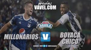 Previa Millonarios vs. Boyacá Chicó: las ganas de una nueva estrella contra el asfixiante descenso