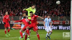 1. FC Union Berlin 2-0 1860 Munich: Die Eisern maintain unbeaten run