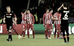 Champions League - L'Atletico Madrid espugna la Bay Arena. Battute le aspirine per 4-2