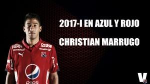 2017-1 en azul y rojo: Christian Marrugo
