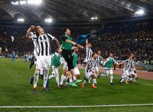 Juventus, De Sciglio-Chiellini e la gioia scudetto