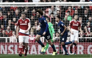 Premier League: lo United cala il tris, Middlesbrough battuto 1-3