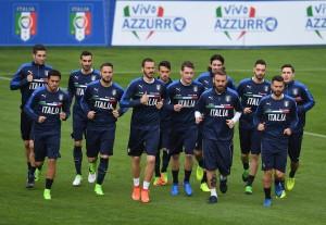 Verso Italia - Albania, le prove di Ventura