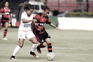 De virada, Santos bate Flamengo e garante classificação para segunda fase do Brasileirão Feminino