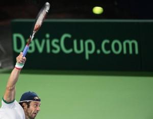 Coppa Davis, Belgio - Italia: Lorenzi apre con Darcis