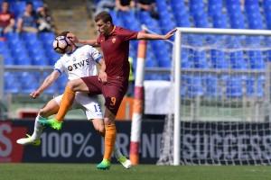 La Roma è fermata dai legni: 1-1 con l'Atalanta