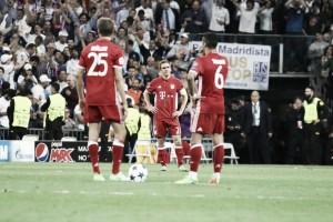 El Bayern de Múnich muere de pie