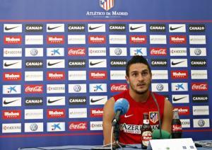 """Koke: """"Villa aportará muchos goles; es lo que queríamos"""""""