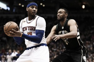NBA, Carmelo Anthony in stand-by