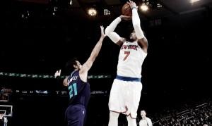 NBA, New York all'overtime sugli Hornets. Bene i Bulls, cadono i Clippers a Detroit