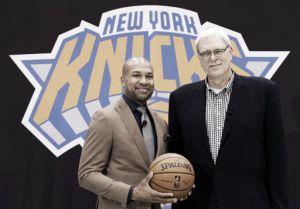 Los Knicks presentana Derek Fisher como nuevo entrenador